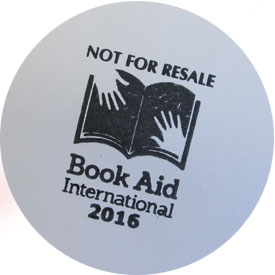 Book Aid International stamp
