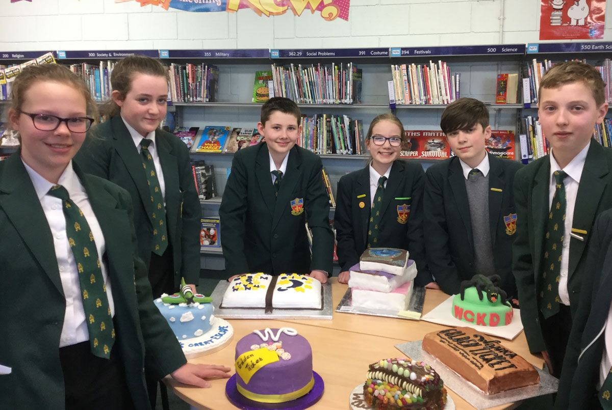 Canon Slade School cake competition